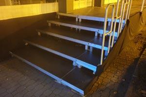 podest sceniczny hd 1mx0,5m element schodów forum ekonomiczne w Krynicy